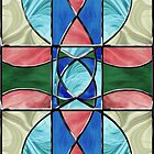 Stained Glass Window 2 by MSRowe Art and Design