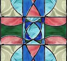 Stained Glass Window 2 by SRowe Art