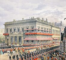 Waterloo Place and Pall Mall by Bridgeman Art Library