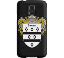 Barnes Coat of Arms/Family Crest Samsung Galaxy Case/Skin