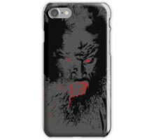 Werewolf black - phone cases iPhone Case/Skin