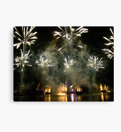 EPCOT FIREWORKS Canvas Print