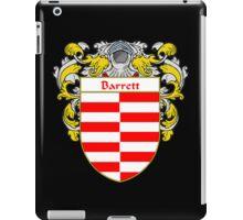 Barrett Coat of Arms/Family Crest iPad Case/Skin