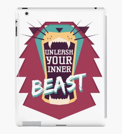 Unleash Your Inner Beast iPad Case/Skin