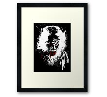 Werewolf - prints, cards & posters Framed Print