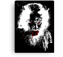 Werewolf - prints, cards & posters Canvas Print