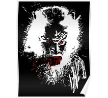 Werewolf - prints, cards & posters Poster
