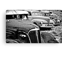 Old Relics Canvas Print