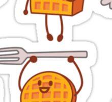 Waffles! Sticker