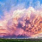 Clouds:  Fast Moving Storm by Bunny Clarke