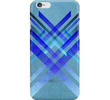 XXX blue retro design iPhone Case/Skin