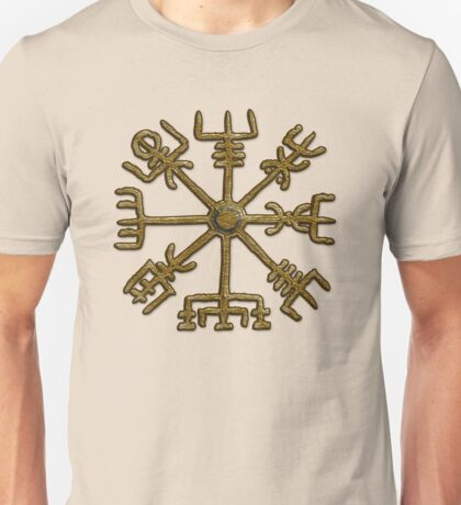Vegvisir - Icelandic Magical Stave - Protection & Navigation  Unisex T-Shirt