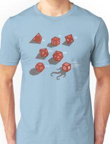 Roll for sanity (dark) Unisex T-Shirt