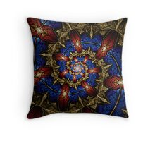 Thorns and Beetles I Throw Pillow