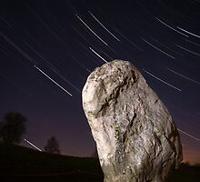 Night at Avebury by Adam  Barstow