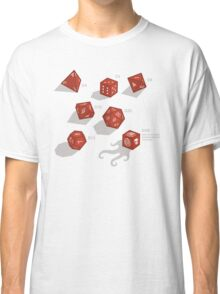 Roll for sanity (light) Classic T-Shirt