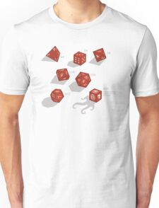 Roll for sanity (light) Unisex T-Shirt