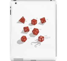 Roll for sanity (light) iPad Case/Skin
