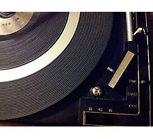 vinyl loyalist  Photographic Print