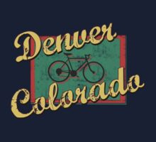 Bike Cycling Bicycle Denver Colorado by SportsT-Shirts