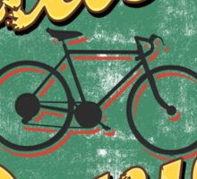 Bike Cycling Bicycle Cruising Denver Colorado Sticker