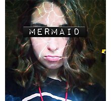 Uncoventional MERMAID Photographic Print
