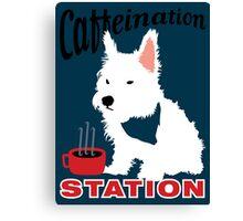 Caffeination Station Canvas Print