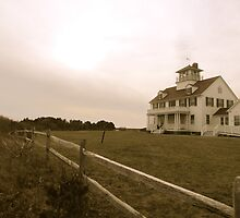 Coast Guard Station by GleaPhotography