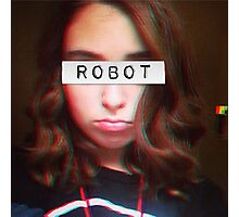 Informal ROBOT Photographic Print
