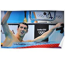 MICHAEL PHELPS IS RETURNING Poster