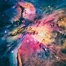 The awesome beauty of the Orion Nebula  by badbugs
