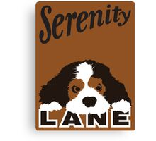 Serenity Lane Canvas Print