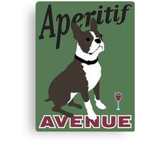 Aperitif Avenue Canvas Print