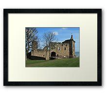 St Andrews Castle, St Andrews, Scotland Framed Print