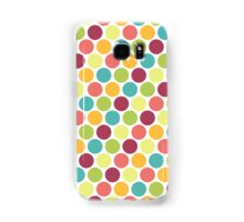 Candy Colored Polka Dot Pattern Samsung Galaxy Case/Skin