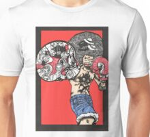 One Piece doodle with background Unisex T-Shirt