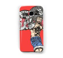 One Piece doodle with background Samsung Galaxy Case/Skin