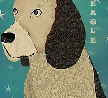 beagle dog by bri-b