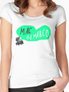MAC DEMARCO. Women's Fitted Scoop T-Shirt