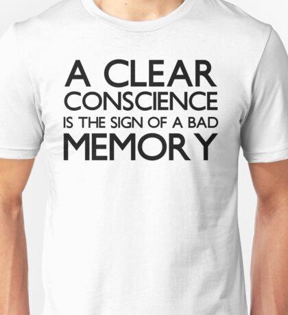 Funny memory loss T Shirt Unisex T-Shirt