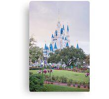 Morning Magic Kingdom! Canvas Print
