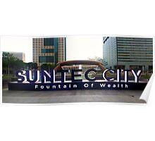 Suntec City Poster