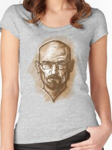 Walter White Women's Fitted Scoop T-Shirt