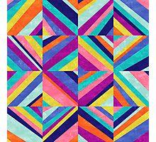 Hybrid - Geometric Abstract Photographic Print