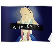 Alice; Whatever Poster