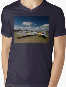 Three Chipmunks @ Caboolture Fly-In, Queensland 2011 Mens V-Neck T-Shirt