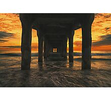 Manhattan Beach Pier Photographic Print