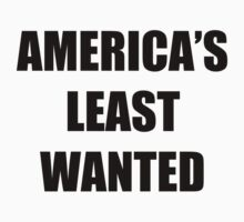 America's Least Wanted by thedoormouse