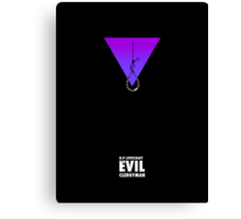 """The Evil Clergyman""  Canvas Print"