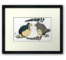 ROAR! Framed Print